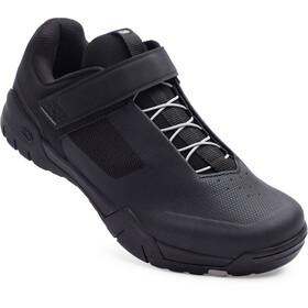 Crankbrothers Mallet E Speedlace Shoes, negro/Plateado